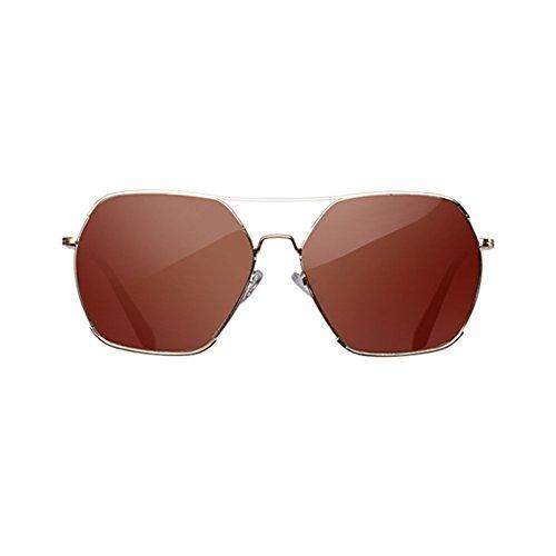 Conducción Turismo Gafas Sol YQ Color 2 1 De Unisex Al De Marco Gafas QY Grande Libre Moda Retro Aire fF1BR