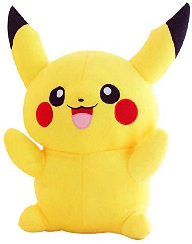 Teddy Aradhya Pikachu Pokemon Stuffed Huggable Loveable Fluffy Spongy Soft Plush Toy  12 Inch