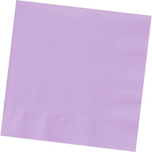 Lavender Big Party Pack Luncheon Napkins | Pack of 125 | Party Supply ()