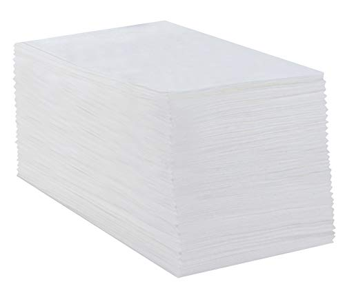 - Juvale Disposable Guest Towels Heavy Duty Napkins Cloth-Feel White (100 Pack)