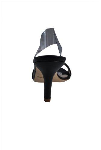 Tamara Calf Ciuti Leather Womens Strappy Black Claudia Sandals Heel 8AEww