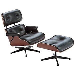 Vitra Miniature Eames Lounge Chair & Ottoman