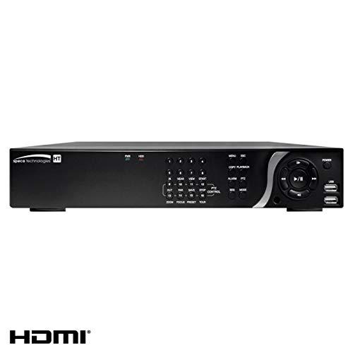 (SPECO Technologies | D8HT6TB 8 Channel 1080P TVI & IP Hybrid DVR 6TB)