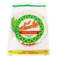 Verole Queso Flour Tortilla, 25 Ounce -- 12 per case. by VEROLE QUESO
