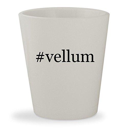 Price comparison product image #vellum - White Hashtag Ceramic 1.5oz Shot Glass