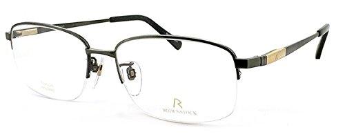 ( ローデンストック ) 眼鏡 RODENSTOCK R0141 B [メンズ 男性用 眼鏡] 2サイズ 日本製 チタン バネ蝶番 メガネ ダテ眼鏡 クリアサングラス (ダミーレンズ付) B00WHPO18S サイズ 54mm