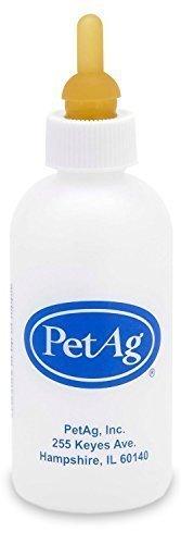 PetAg Nurser Bottle for Smaller Baby Animals - 2 oz. 6 Packs of 2 oz.