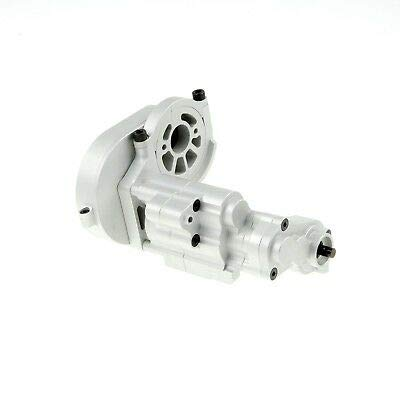 GDS Racing Alloy Gearbox Assembly with Metal Gear Set Silver for Axial RR10