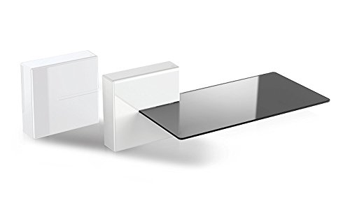 meliconi Ghost Cubes Expandible Audio Video Modular Cable Cover System With Shelf Option