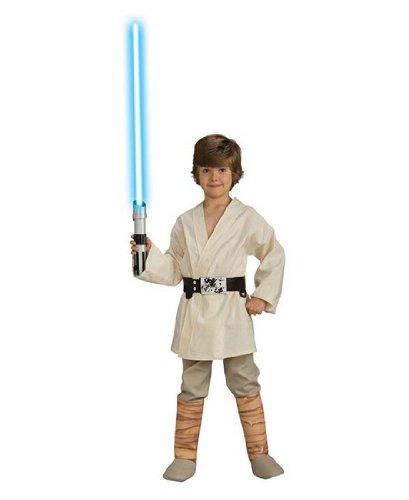 Rubies Star Wars Classic Child's Deluxe Luke Skywalker costume, Small -