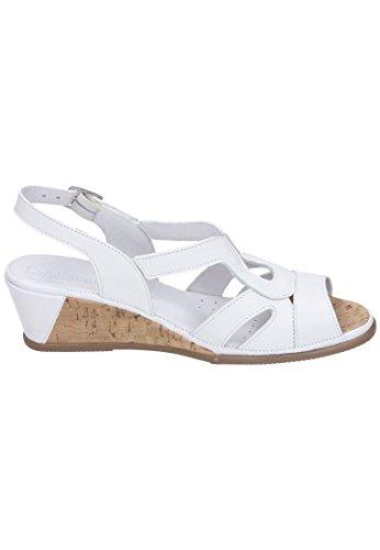 Comfortabele Dames Sandaal Witte Weiss