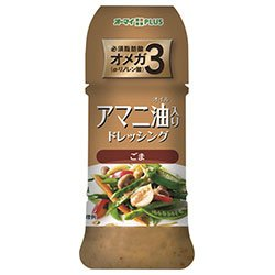 日本製粉 オーマイプラス アマニ油入りドレッシング ごま 150ml×12本入×(2ケース) B078HZ8HSL