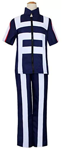 (Boku No Hero Academia My Hero Academia Costume Suit Training Suit Uniform Sportswear Navy)