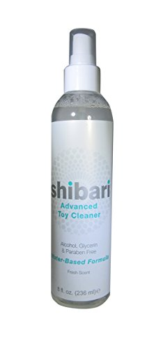 Shibari Advanced Antibacterial Toy Cleaner, 8oz Spray Bottle (Best Way To Use A Pocket Pussy)