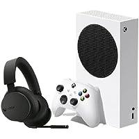 وحدة تحكم Xbox Series X مع سماعات راس لاسلكية