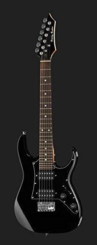 Guitarra eléctrica para niños Mod.Rock Harley Benton rg-junior BK ...