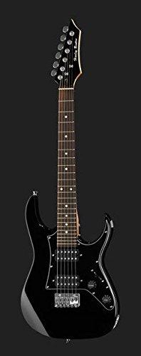 Guitarra eléctrica para niños Mod.Rock Harley Benton rg-junior BK