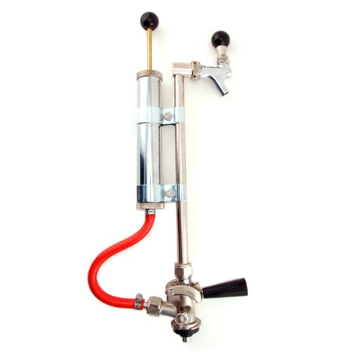 (Deluxe European Sankey Beer Pump - With S-System Keg Coupler)