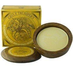 Geo F Trumper Violet Shaving Soap in Wooden Bowl (80g)