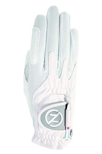 Zero Friction Women's Right Hand One Size Golf Glove  - White