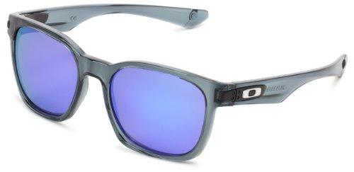 Oakley Garage Rock OO9175-22 Iridium Sport Sunglasses,Crystal Black,55 mm