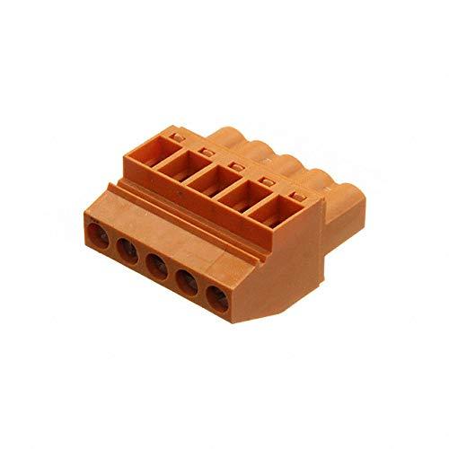 TERM BLOCK PLUG 5POS 5.08MM (Pack of 10)