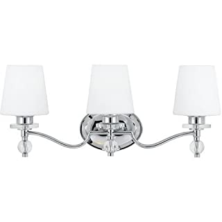 Quoizel HS8603C Hollister 3-Light Bath Fixture, Polished Chrome by Quoizel