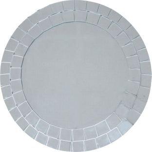 Good Looking Design Mosaic Round Bathroom Mirror.