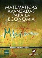Descargar Libro Matemáticas Avanzadas Para La Economía Manuel Sánchez Sánchez