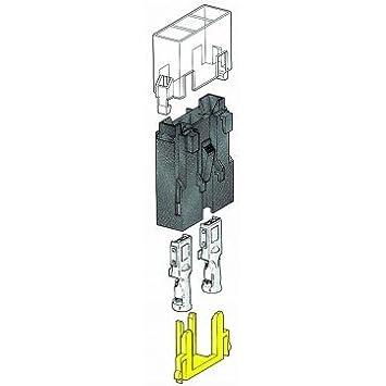5 x Sicherungshalter Sicherung Halter für Flachsicherung anreihbar