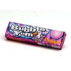 Bubble Yum Bubble Gum, Original - 18 - 5 piece packages [90 pieces] ()