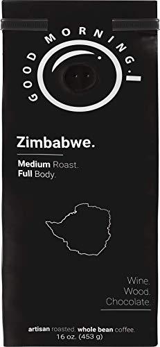 Good Morning Coffee Beans Specialty Zimbabwe | medium roast | best whole bean coffee | %100 arabica | 1lb bag |