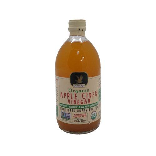 De Nigris Organic Apple Cider Vinegar, 17 Ounce
