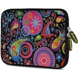 Amzer 10.5-Inch Designer Neoprene Sleeve Case Pouch for Tablet, eBook and Netbook - Jaipur Buti (AMZ5025105)