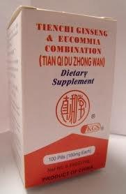 Tienchi Ginseng et eucommia Combinaison (Tian Qi Zhong Du) P041-luckyman