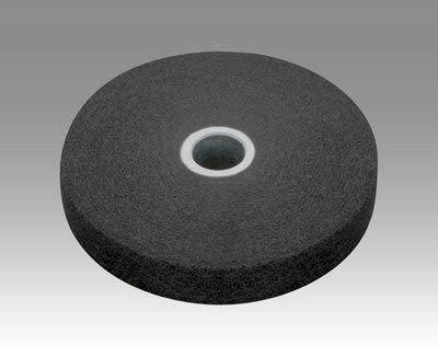3M Scotch-Brite XL-UW Unitized Silicon Carbide Soft Deburring Wheel - Fine Grade - Arbor Attachment - 6 in Diameter - 1 1/4 in Center Hole - 1 in Thickness - 15828 [PRICE is per CASE] by 3M