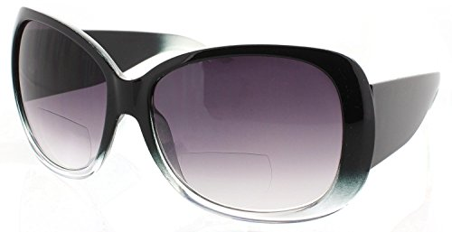 Womens Bifocal Sunglasses Sun Readers Jackie O Designer Style - Jackie Sunglasses