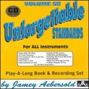 Vol. 58, Unforgettable Standards For All Instruments (Book & CD Set)