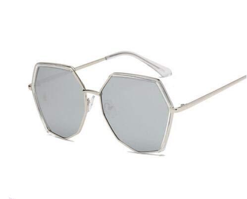 Ligero TR90 Gafas Gafas Moda de Mujeres Poligonal H polarizada Hombre Sol F Gran para KOMNY Moda de tamaño Lente y Nueva Ultra naXxU