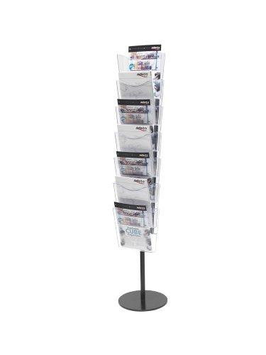 Deflecto A4 Portrait Literature File Floor Stand