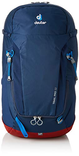 Trail Deuter - Deuter Trail Pro 32 Backpacking Backpack, Midnight/Lava