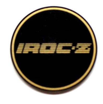 - The Parts Place Camaro Iroc-Z Nos Center Cap Emblem Gold Each - GM # 10087755