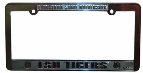 NCAA Louisiana State Fightin Tigers Car Tag Frame ()