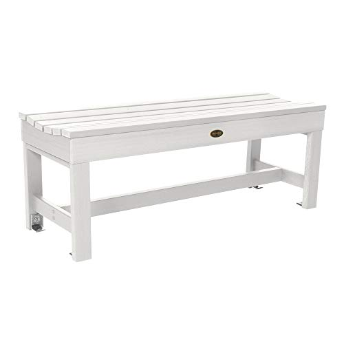 Sequoia Professional CM-BENSQ41-WHE Commercial Grade Weldon 4ft Backless Picnic Bench, White