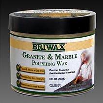 Briwax Granite & Marble Polishing Wax Clear