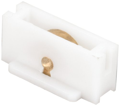 Prime-Line Products G 3122 Sliding Window Roller Assembly with 3/8-Inch Flat Brass Wheel,(Pack of 2) ()