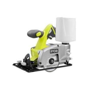 Ryobi P580 Wet Dry Tile Saw 18v One Power Saws Amazon Com