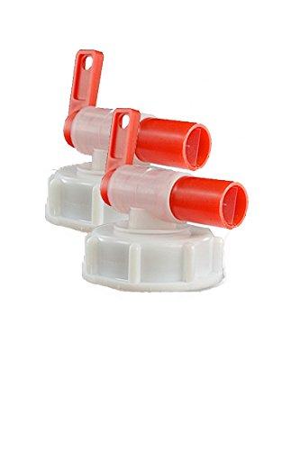 Grifo para barril, dispensador AeroFlow para bidones de plástico, Se adapta a 10 l, 20 l, 25 l.: Amazon.es: Jardín