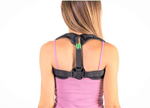 Posture Corrector Spinal Support - Adjustable Comfortable Posture Brace for Men, Women and Kids - Back, Shoulder, and Neck Pain Relief - Posture Trainer