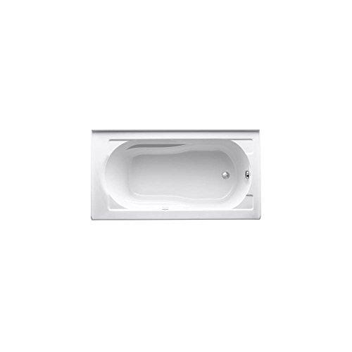 KOHLER K-1357-GRA-0 Devonshire 5-Foot BubbleMassage Bath, (Kohler K-1357 Devonshire Fixtures)
